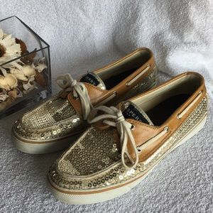 Sperry Top Sider with Sequins